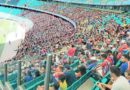 Torcida tricolor comparece em peso em primeiro treino aberto do Bahia na Arena Fonte Nova