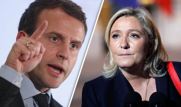 Tom agressivo marca debate entre Macron e Le Pen